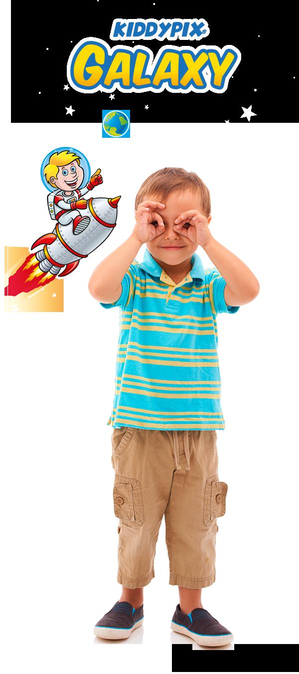 Kiddypix Galaxy Boy
