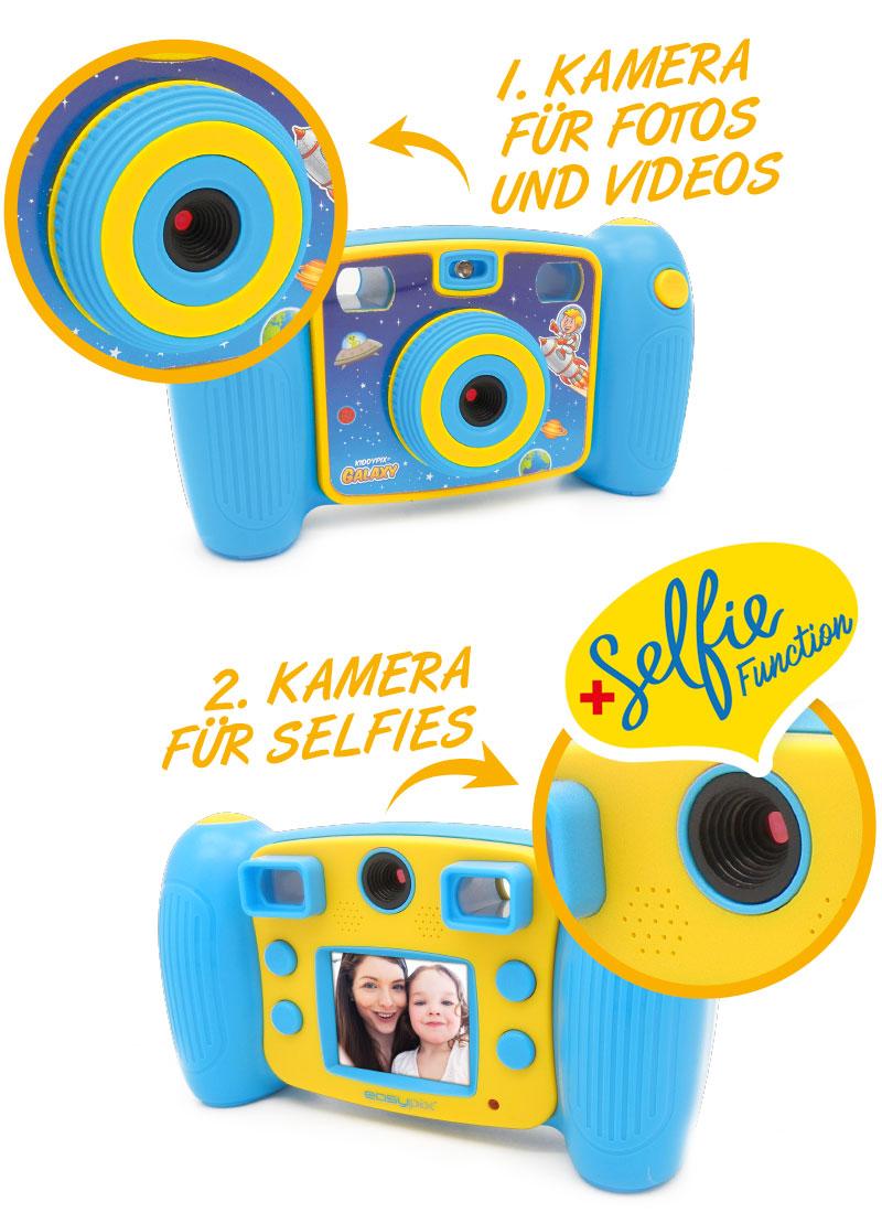 Kiddypix Galaxy Zwei Kameras