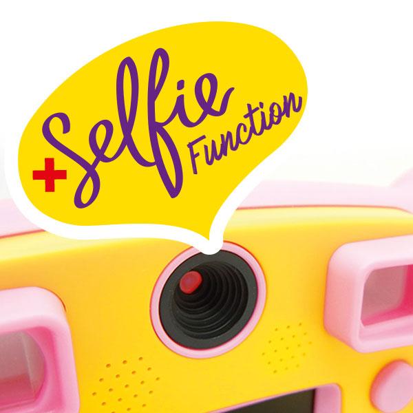 Kiddypix Mystery Selfie Function