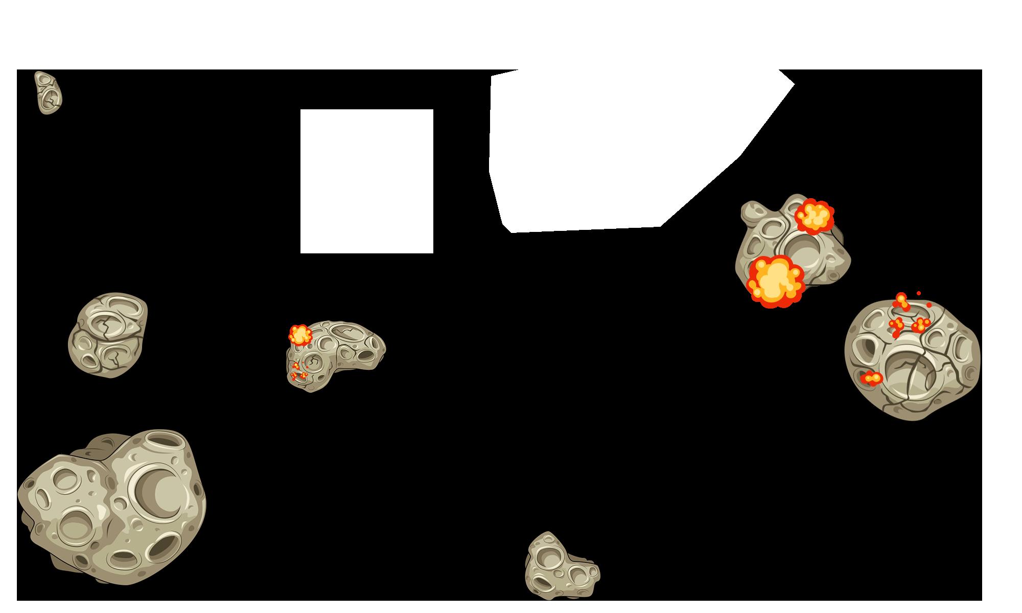 Kiddypix Asteroids